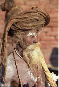 portrait d'homme du Nepal